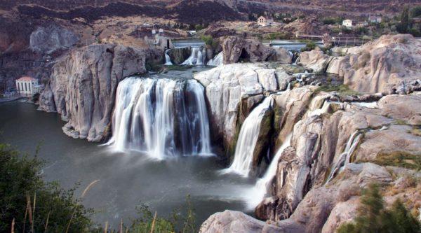 Водопад Шошони фото
