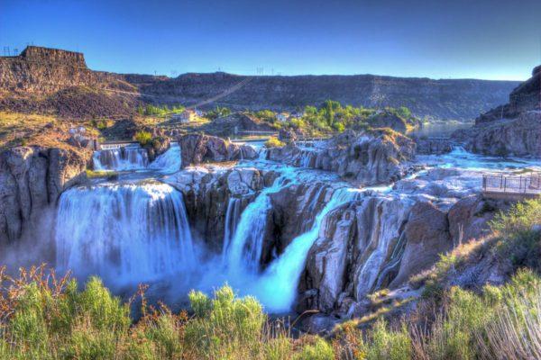 Водопад Шошонов