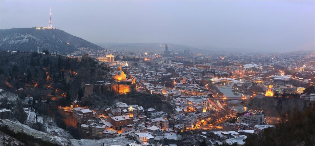 Климат в Тбилиси