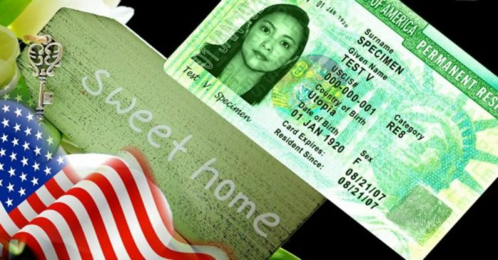 Пример green card