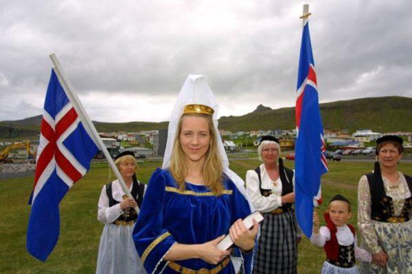 Населения Исландии