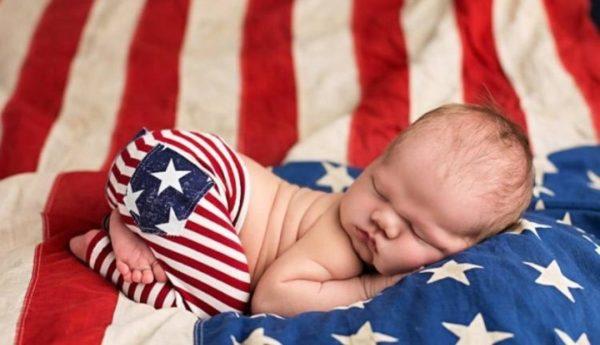 Рождения ребенка в США