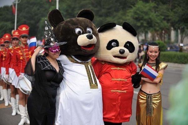 Русские в Китае