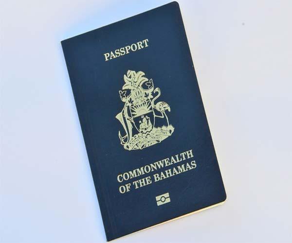 Паспорт гражданина Багамских островов