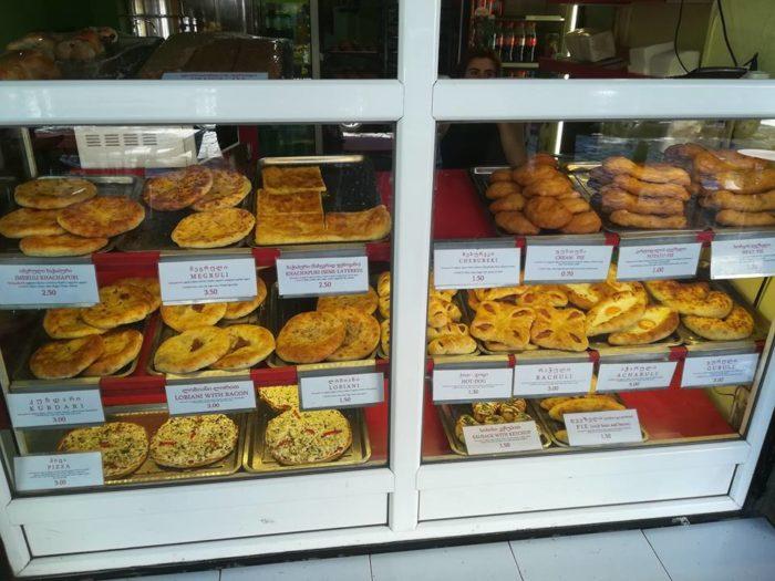 Цены на еду в Грузии