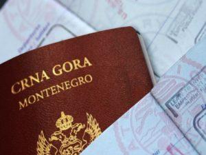 Паспорт Черногории фото