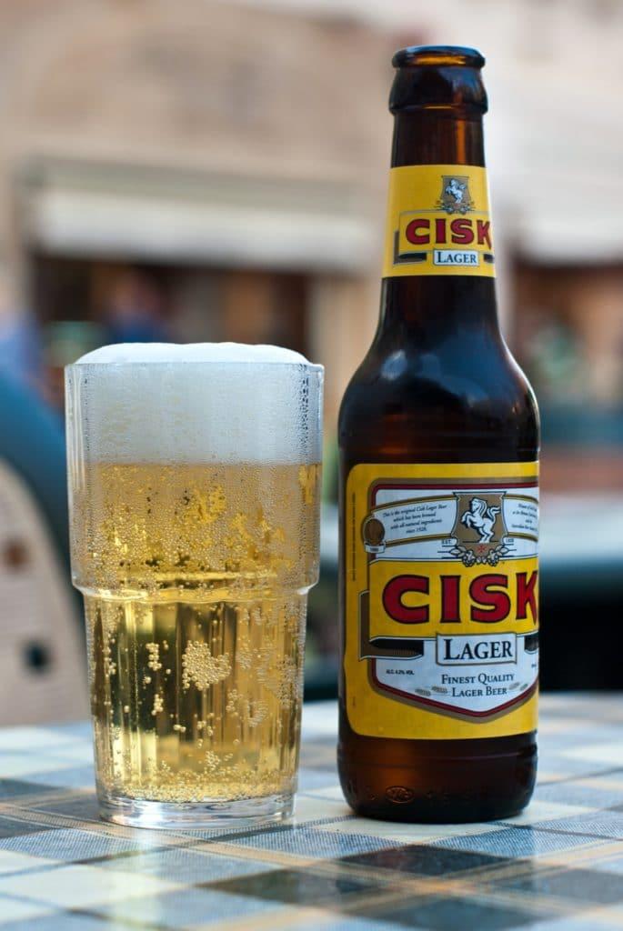 Местное пиво на Мальте