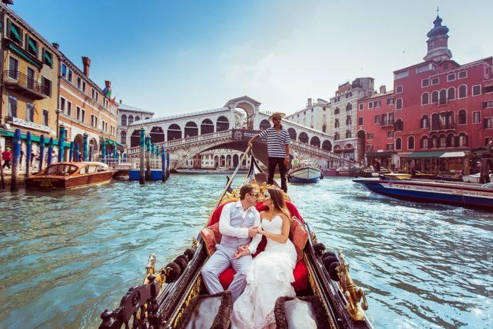 Медовый месяц в Италии