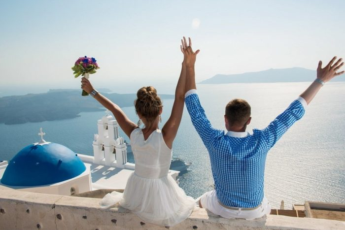 Свадебное путешествие в Грецию