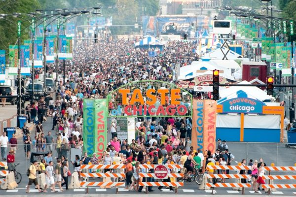 Фестиваль вкус Чикаго