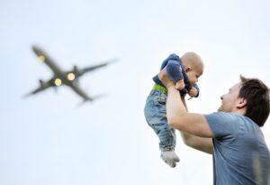 Полет с детьми в самолете