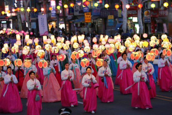 Лунный Новый год в Корее