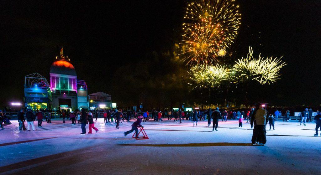 Natrel Skating Rink