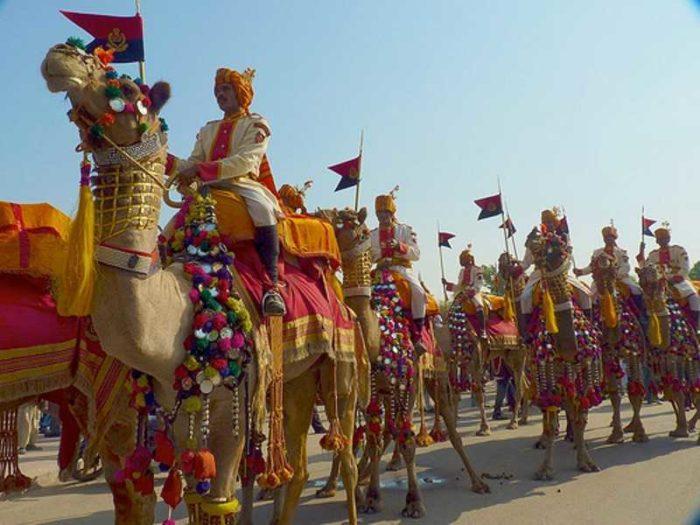 Фестиваль верблюдов в Пушкаре
