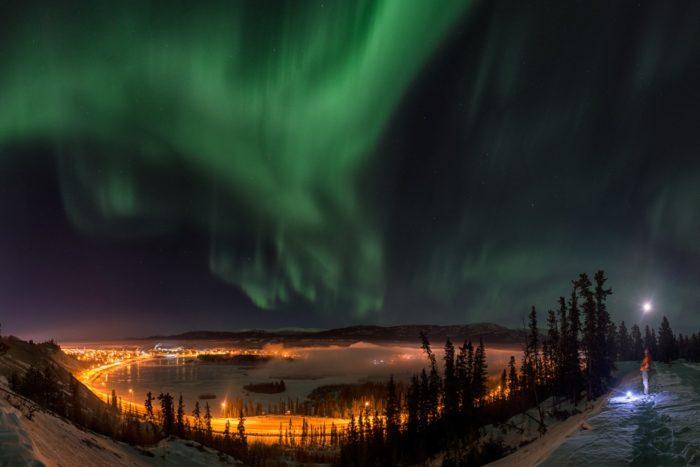Юкон полярные огни