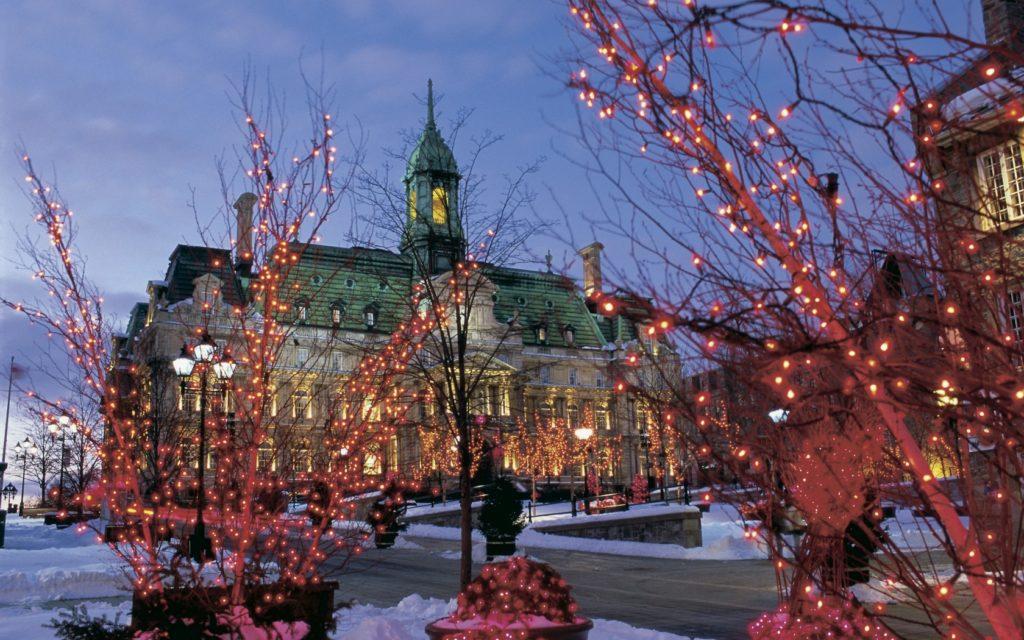 Монреаль зимой
