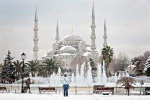 Турция зимой