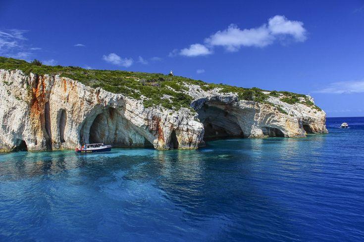 Голубой грот (Blue caves)