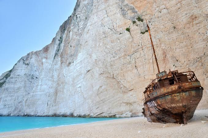 Пляж кораблекрушений