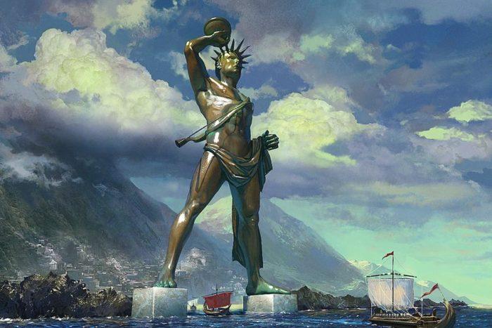 Статуя Колосса Родосского